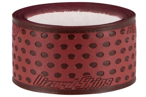 Lizard Skins Durasoft 0.5mm Bat Grip - Maroon - Baseball Accessories, Softball Accessories - Hit A Double