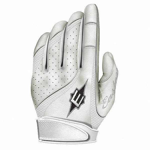 Easton Fastpitch Rollover Women's Batting Gloves White