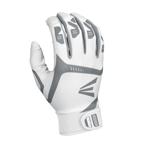 Eaaston Gametime Batting Youth Gloves - White White