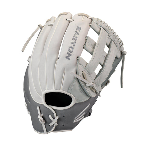 "Easton Ghost Fastpitch 12.75"" Outfield Glove - Gray Dark Gray"