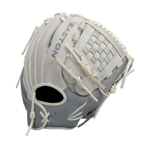 "Easton Ghost Fastpitch 12.00"" Infield Glove - Gray Dark Gray"