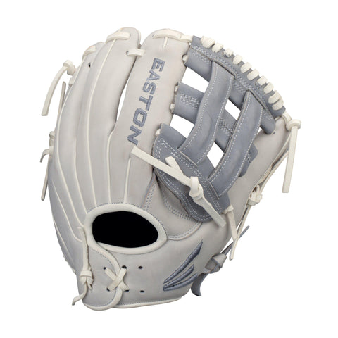 "Easton Ghost Fastpitch 11.75"" Infield Glove - Gray Dark Gray"