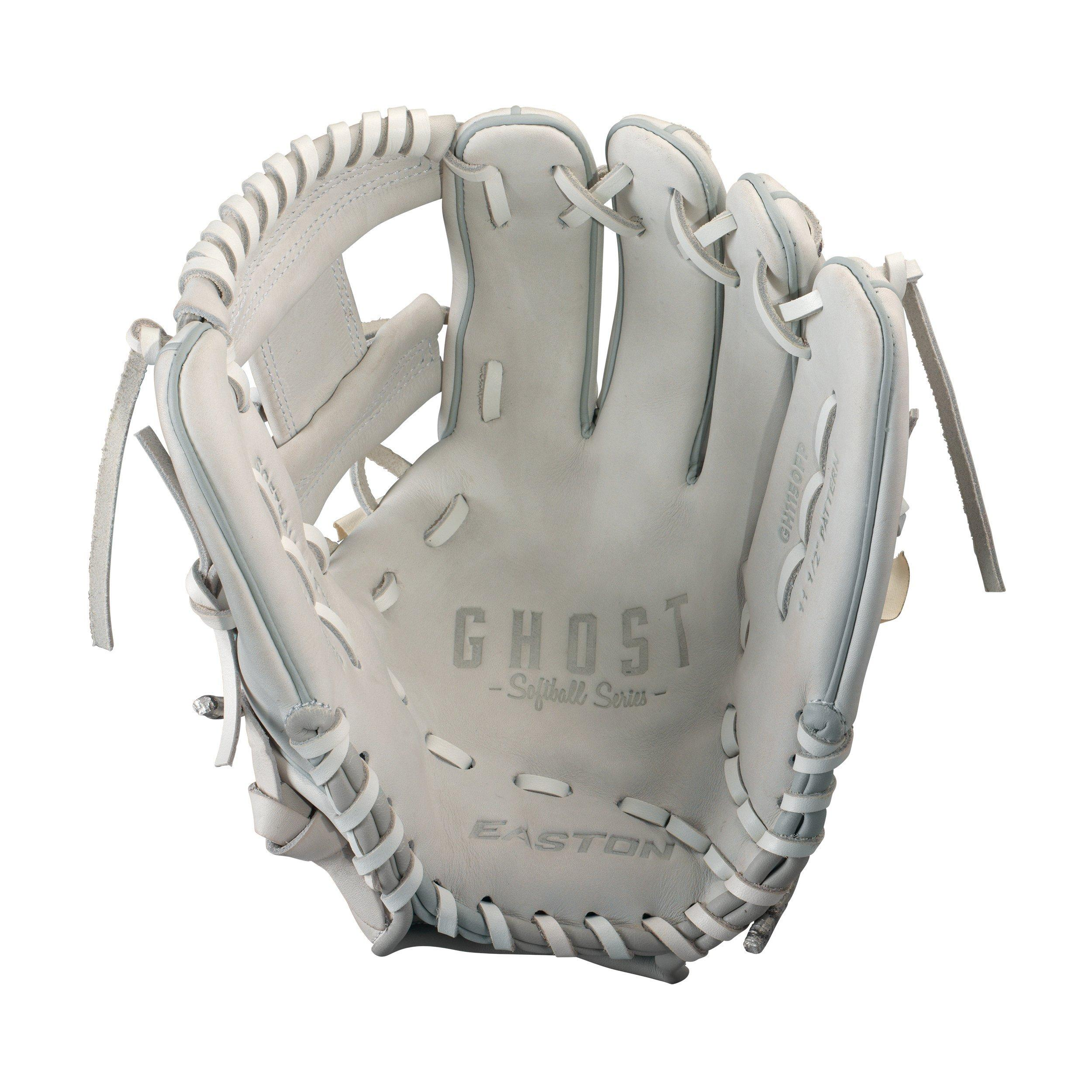 "Easton Ghost Fastpitch 11.50"" Infield Glove - Gray"