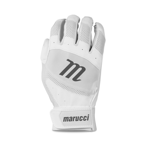 Marucci Badge Coach Pitch T-Ball Batting Glove - White