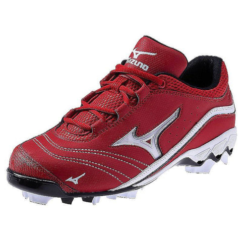 Mizuno 9-Spike Watley G3 Switch Red-White