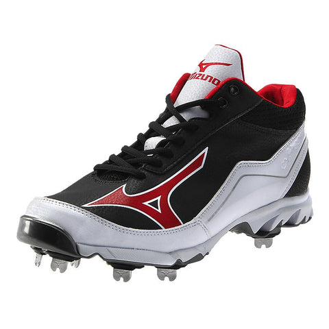 Mizuno 9 Spike Swagger Mid Black / Red