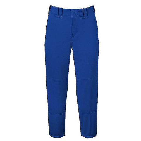 Mizuno Select Belted Low Rise Fastpitch Pant - Royal