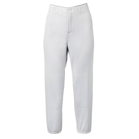 Mizuno Select Non-Belted Low Rise Fastpitch Pant - White