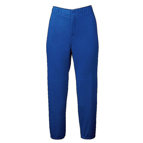 Mizuno Select Non-Belted Low Rise Fastpitch Pant - Royal
