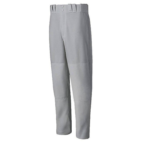 Mizuno Select Relaxed Fit Youth Baseball Pant - Gray (Grey)