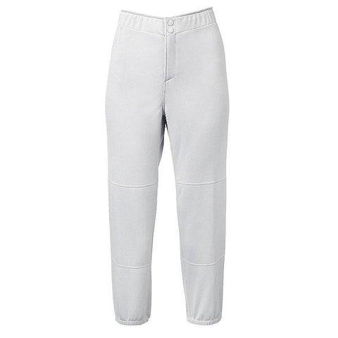 Mizuno Girls Padded Unbelted Pant - White
