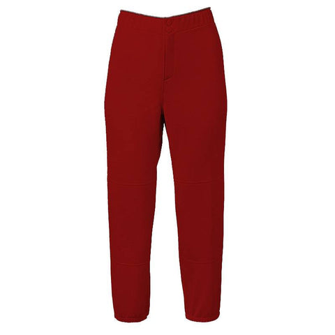 Mizuno Girls Padded Unbelted Pant - Red