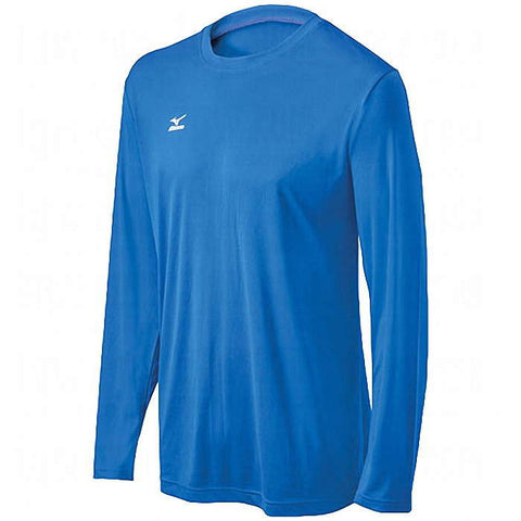 Mizuno Hybrid Tee Long Sleeve - Royal