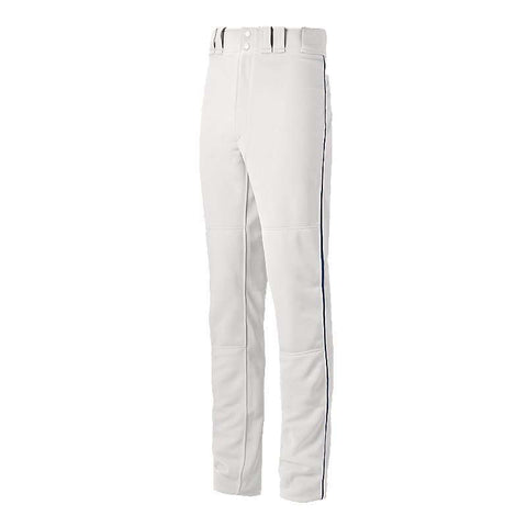 Mizuno Youth Select Pro Piped Pants - White Navy