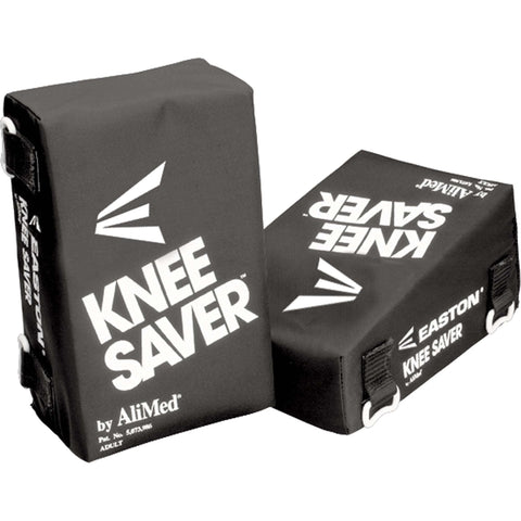 Easton Ali-Med Catcher's Knee Saver - Black - Catcher's Gear - Hit A Double
