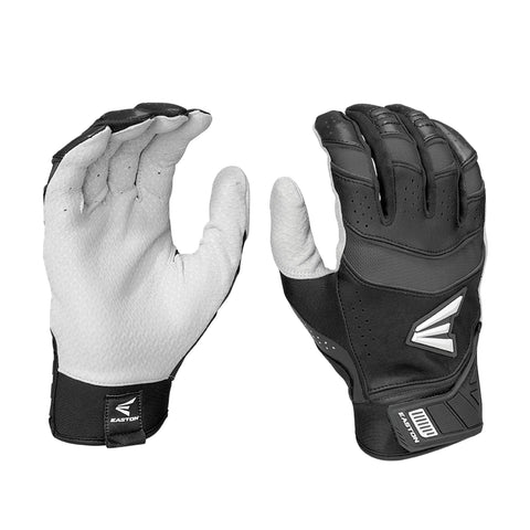 Easton Pro X Adult Batting Gloves - Black