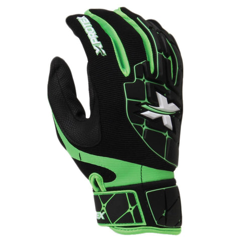 Diamond XProtex Raykr Batting Glove - Black Green