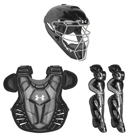 Under Armour Converge UACK3-AP Adult Pro Catchers Kit - Black