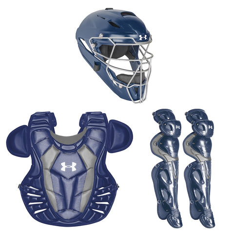 Under Armour Converge UACK3-AP Adult Pro Catchers Kit - Navy
