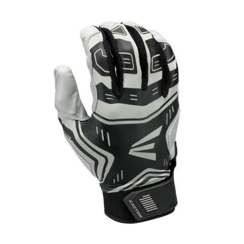 Eaaston VRS Power Boost Youth Batting Gloves - Gray Black