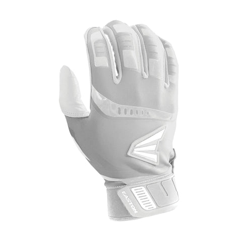 Easton Walk-Off Youth Batting Gloves - White