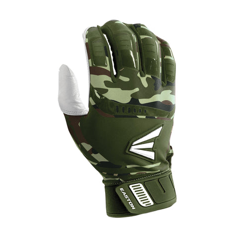 Easton Walk-Off Adult Batting Gloves - Olive Camo