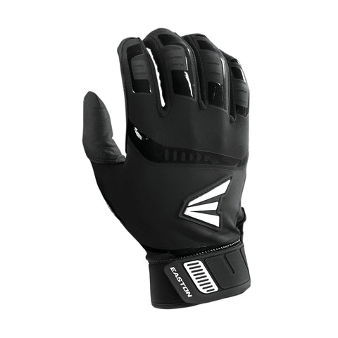 Easton Walk-Off Adult Batting Gloves - Black