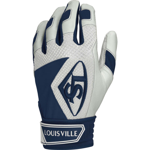 Louisville Slugger Series 7 Youth Batting Gloves - Navy