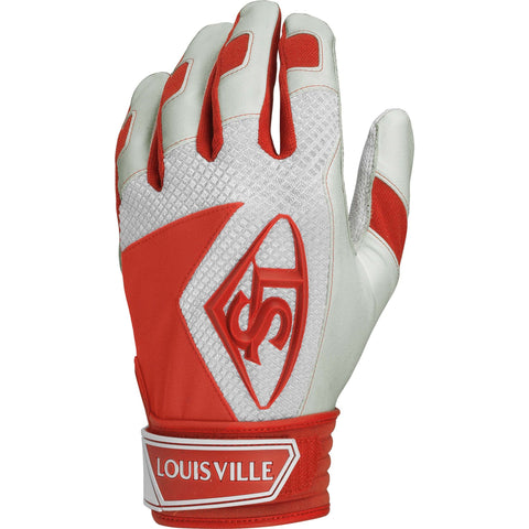 Louisville Slugger Series 7 Adult Batting Gloves - Orange