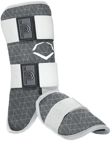 EvoShield Adult EvoCharge Batter's Leg Guard - Gray