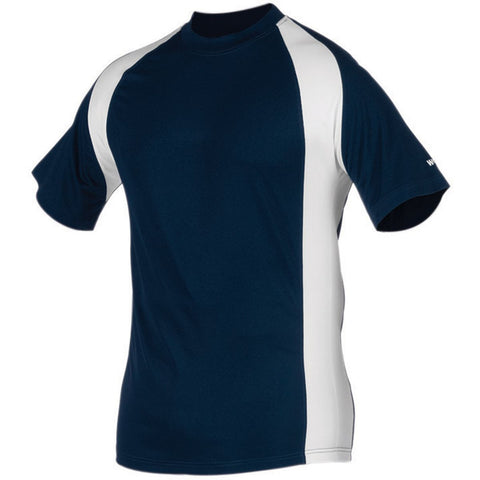Worth Titan Short Sleeve Jersey Youth - Navy White