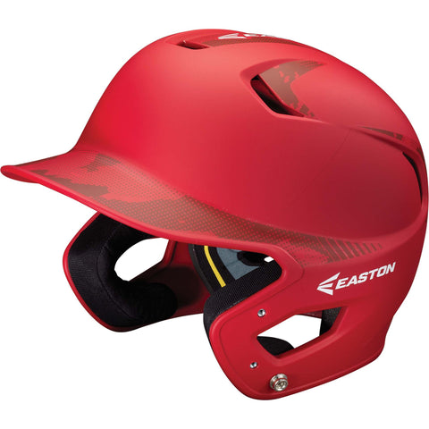 Easton Z5 Grip BaseCamo Two-Tone Batting Helmet - Red Red Camo