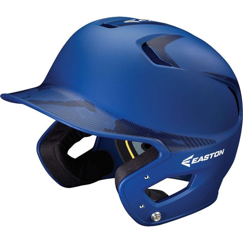Easton Z5 Grip BaseCamo Two-Tone Batting Helmet - Royal Royal Camo