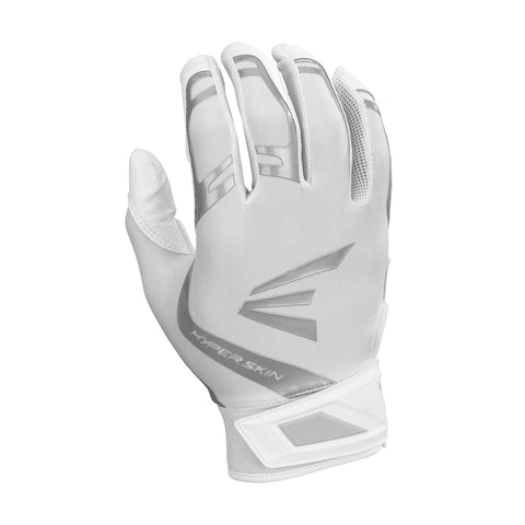 Easton ZF7 VRS Hyperskin Fastpitch Batting Gloves - White