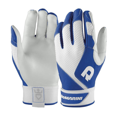 DeMarini Phantom Adult Batting Gloves - Royal