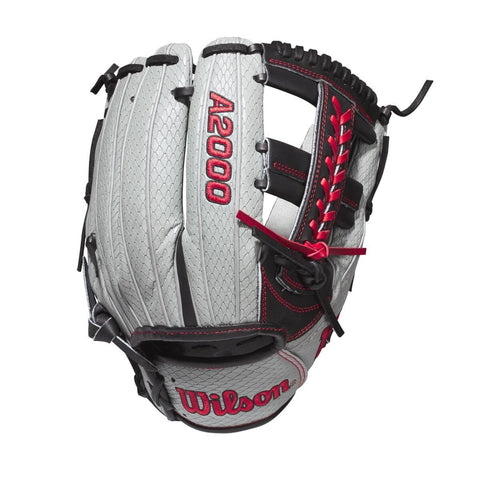 "Wilson 2020 A2000 1785SS GOTM 11.75"" Infield Glove WBW1002521175 May 2020 - Gray Black - HIT A Double"
