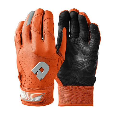 DeMarini CF Adult Batting Gloves - Orange