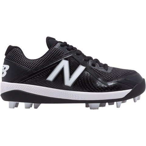 New Balance Youth J4040v4 Molded Baseball Cleats - Black