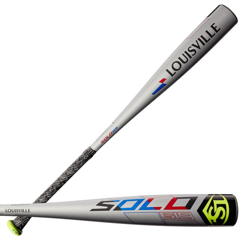 "Louisville Slugger 2019 Solo 619 (-11) USA Approved 2 5/8"" Bat - Gray"