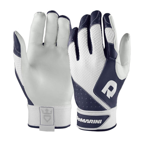 DeMarini Phantom Adult Batting Gloves - Navy