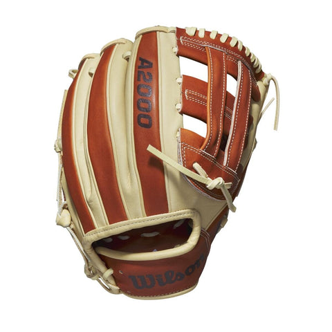 "Wilson 2020 A2000 PP05 GOTM 11.50"" Infield Glove WBW100080115 April 2020 - Royal Red - HIT A Double"