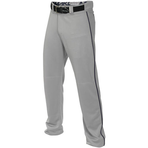 Easton Mako 2 Piped Baseball Pant - Gray Navy