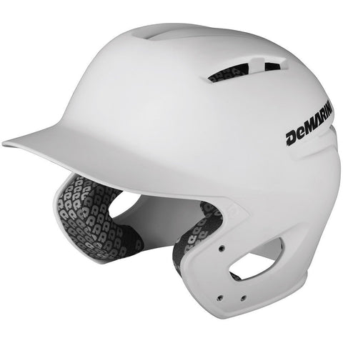 DeMarini Paradox Matte Batting Helmet - White