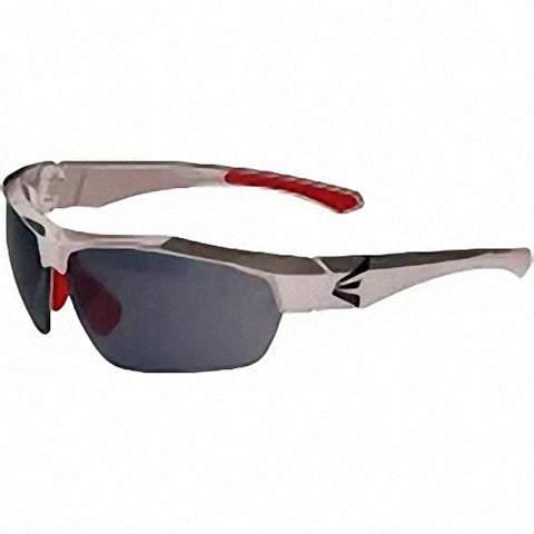 Easton Flare Sunglasses - Silver Red Frame
