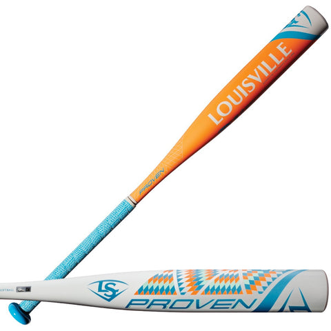 Louisville Slugger 2018 Proven (-13) Fastpitch Bat - Green Orange