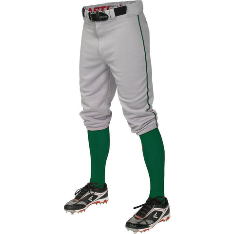 Easton  Pro+ Piped Knicker Baseball Pant - Gray Forest - Baseball Apparel - Hit A Double
