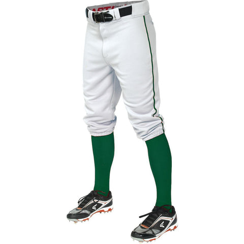 Easton  Pro+ Piped Knicker Baseball Pant - White Forest - Baseball Apparel - Hit A Double
