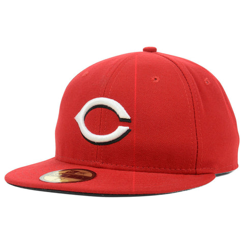 New Era MLB Authentic Cap Cincinnati Reds On-Field Game Red