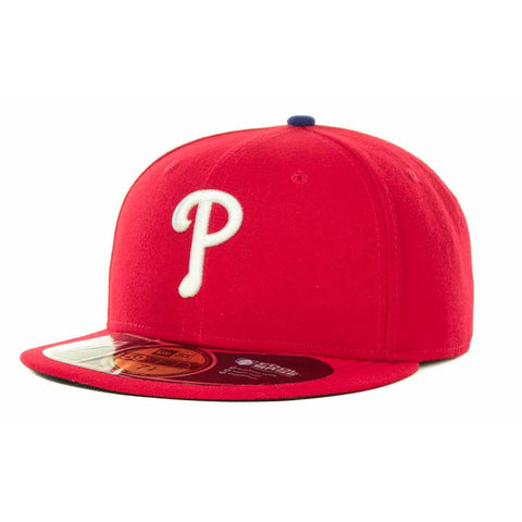 New Era MLB Authentic Cap Philadelphia Phillies On-Field Game Red
