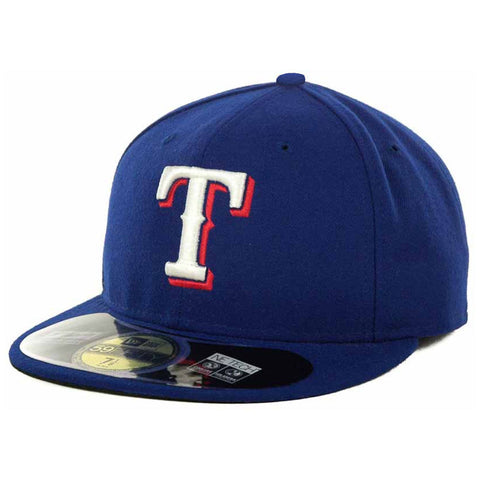 New Era MLB Authentic Cap Texas Rangers On-Field Game Royal Blue